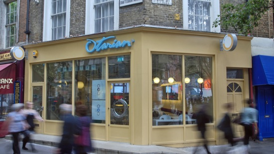 London s new low carbon restaurants for Food bar otarian