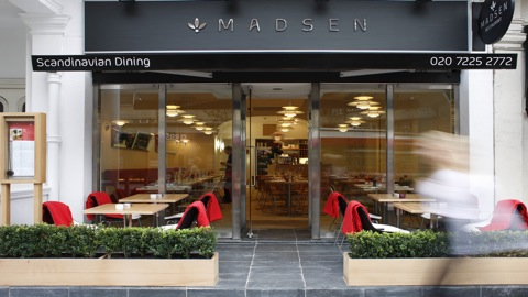 Go scandinavian for valentine s at madsen for Canape rodier
