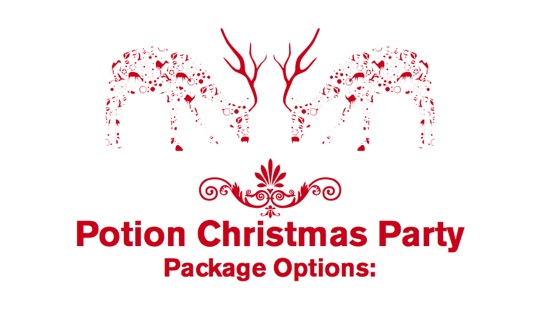 Christmas at Potion Bar in Central London